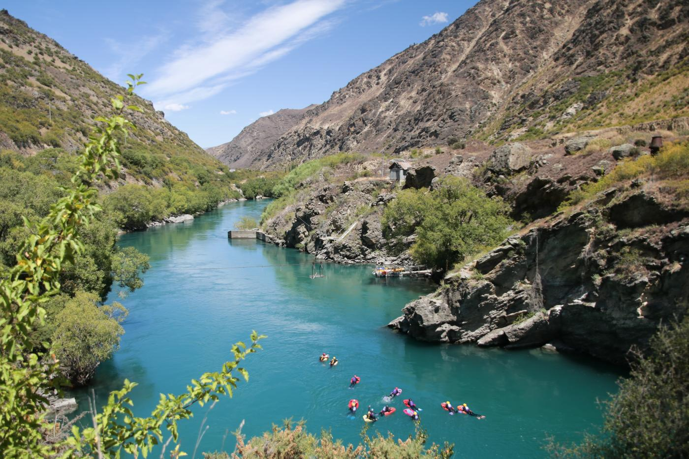 Riverboarding Kawarau River