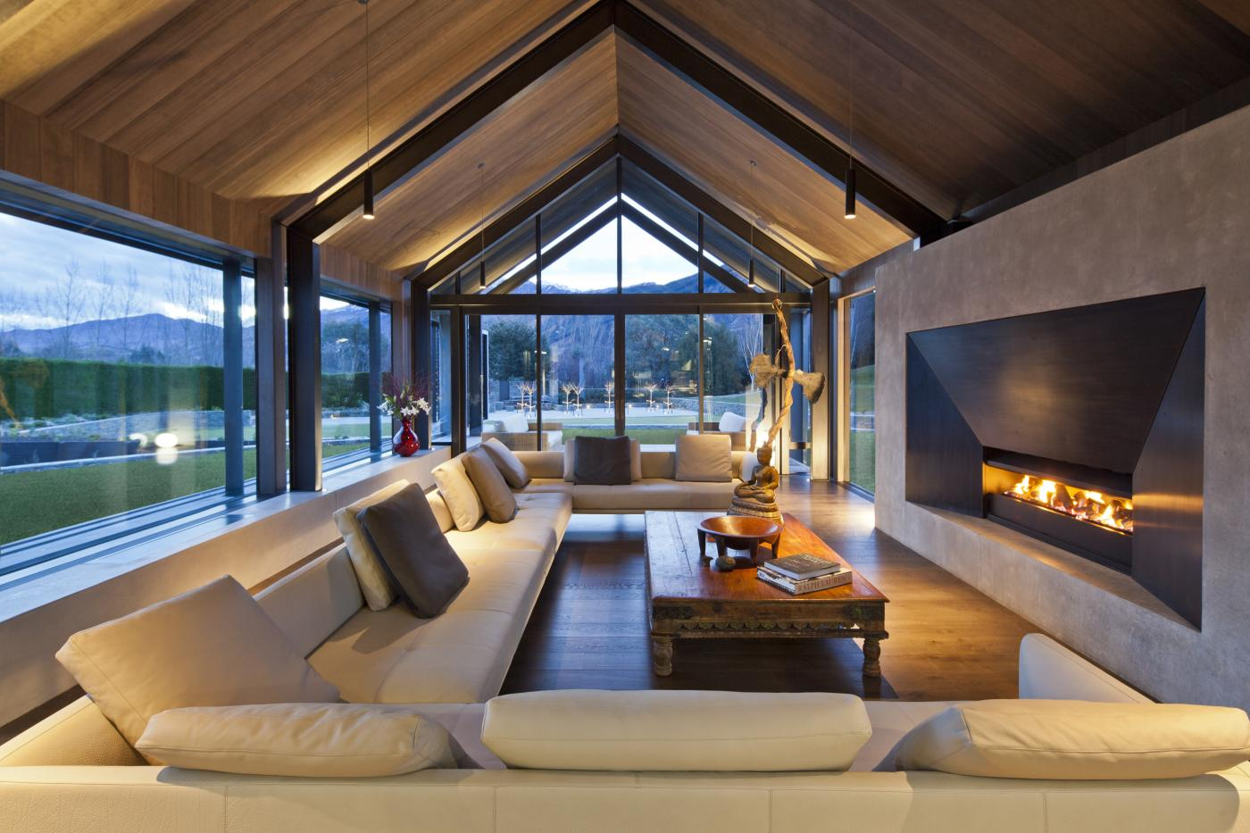 Lodge at The Hills Living Area