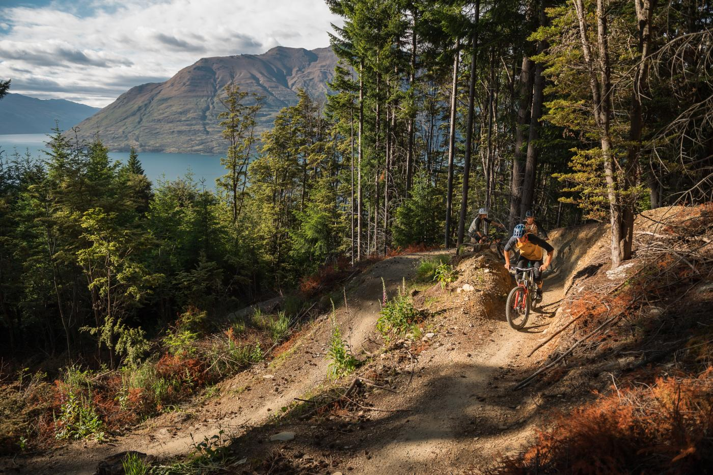 Riding McNearly Gnarly at Queenstown Bike Park