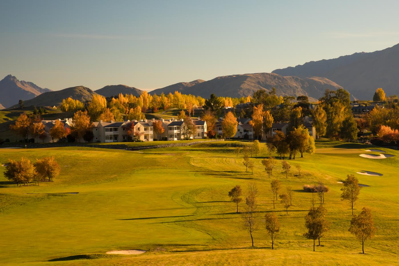 Millbrook Resort in Autumn