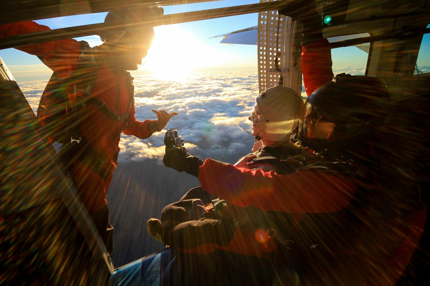 ZONE Skydive Queenstown Sunset Exit