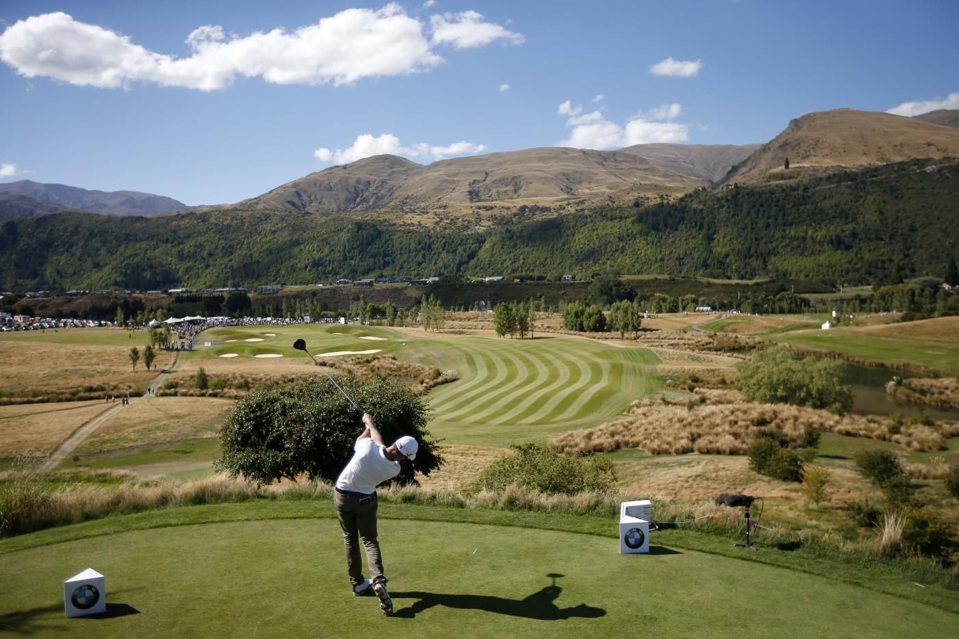 Kieran Pratt of Australia at 2015 New Zealand Golf Open