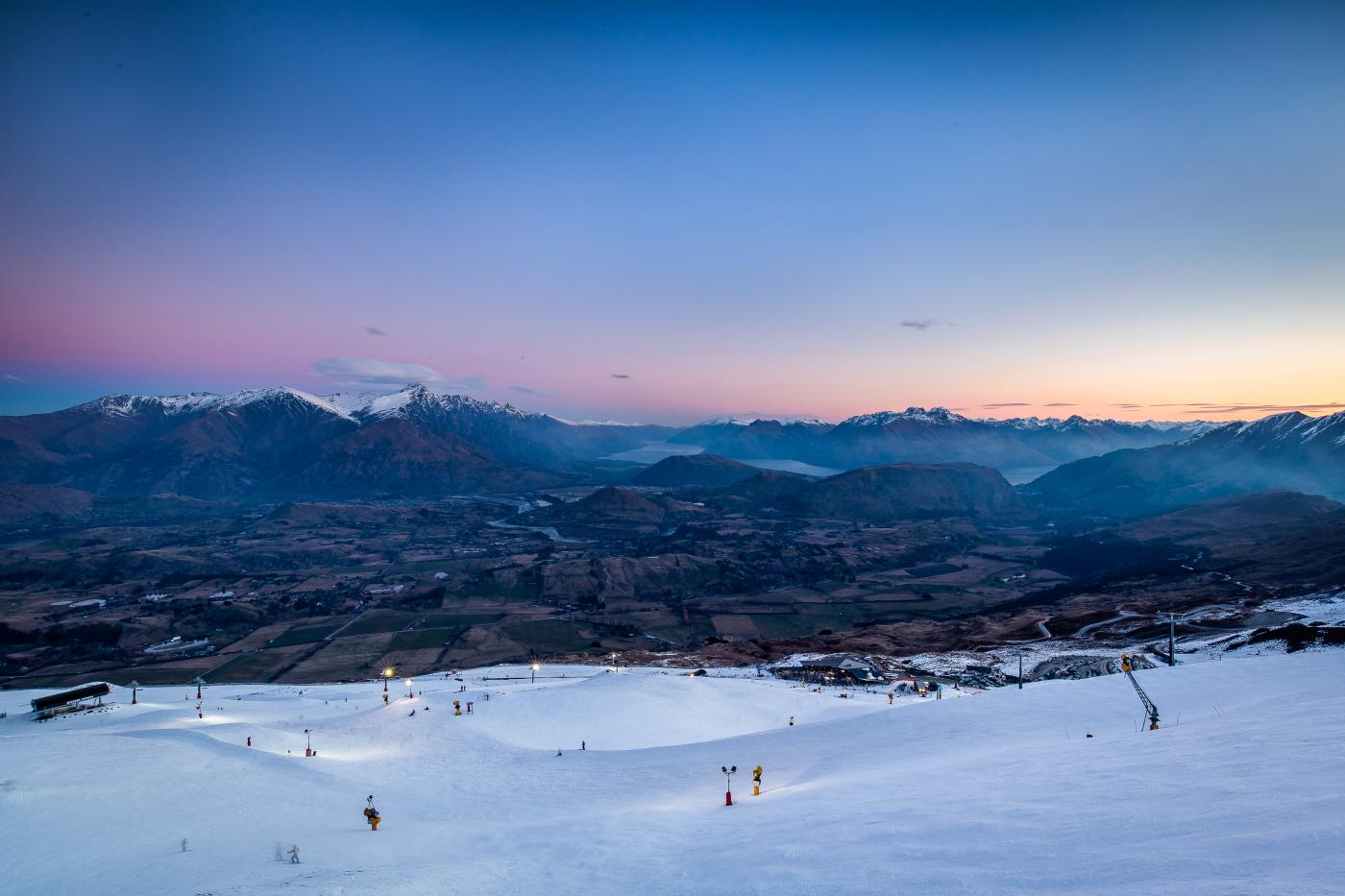 Coronet Peak Night Ski