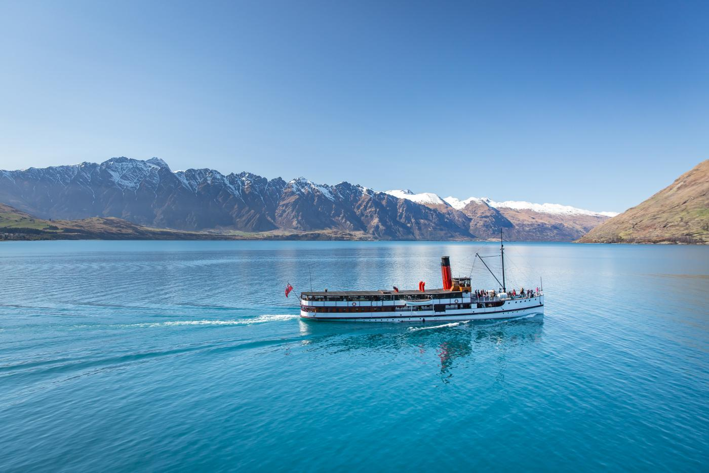 TSS Earnslaw Vintage Steamship Lake Cruises - Real Journeys