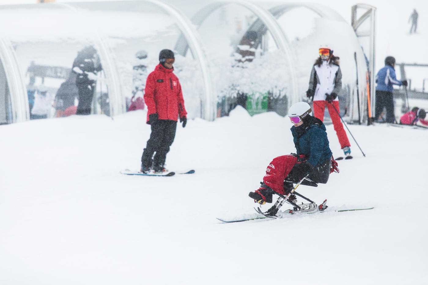 Adaptive snowports at the Remarkables