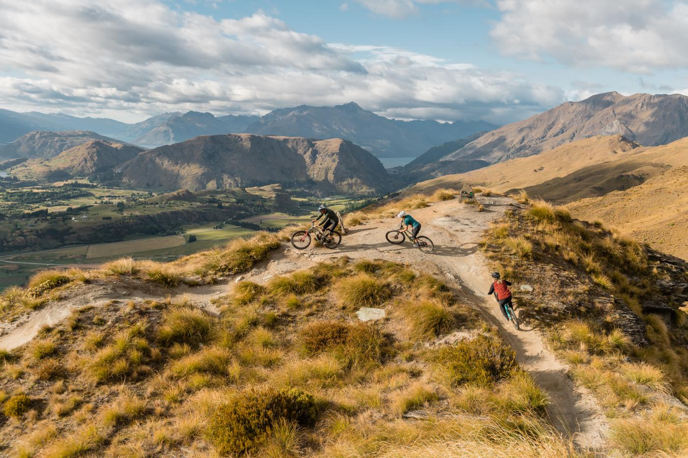 Riding Rude Rock, Coronet Peak
