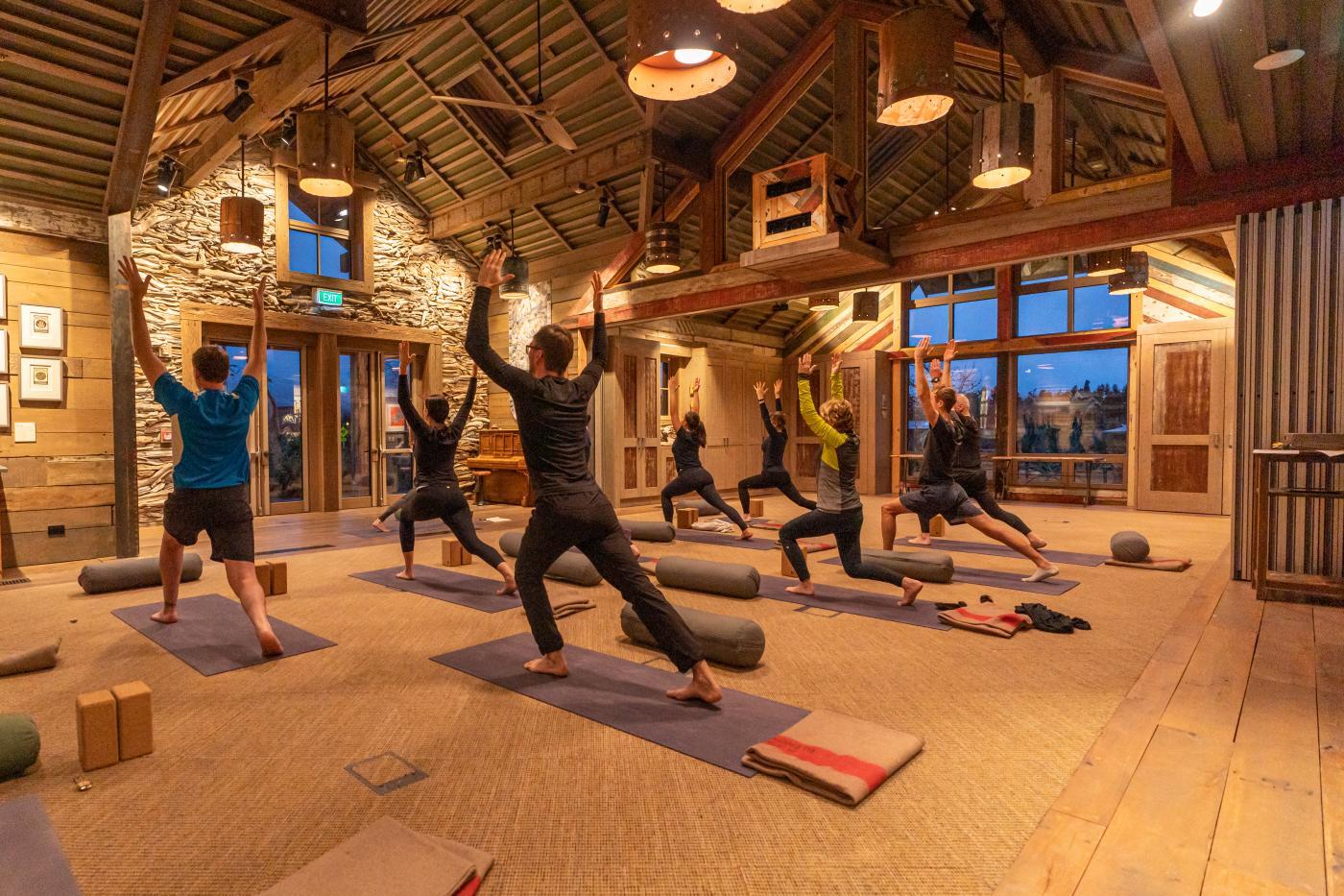 Yoga at Camp Glenorchy