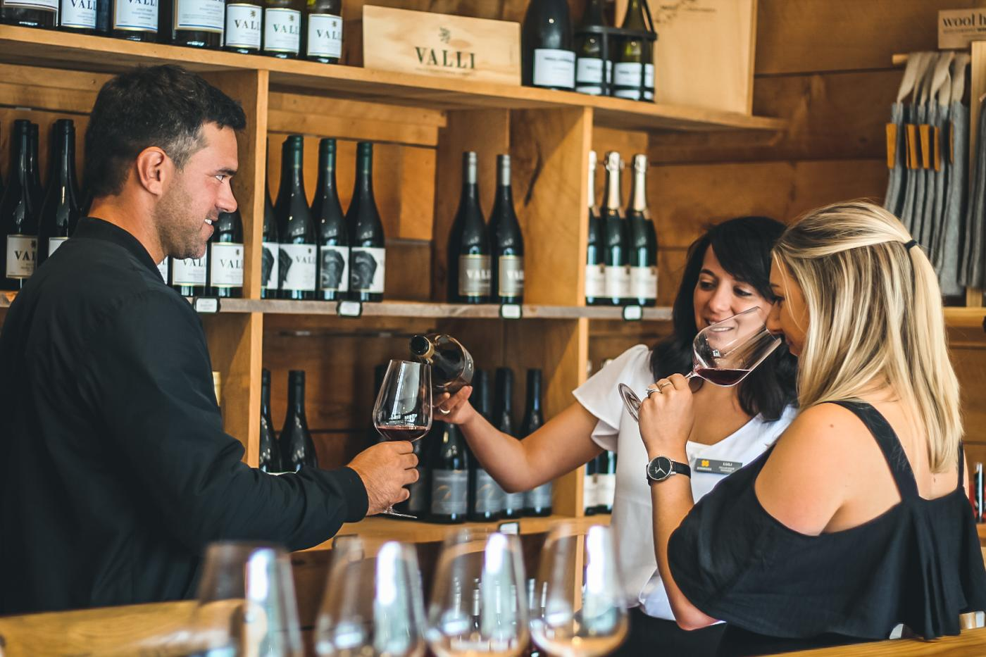 Wine tasting at Kinross, with Appellation Wine Tours