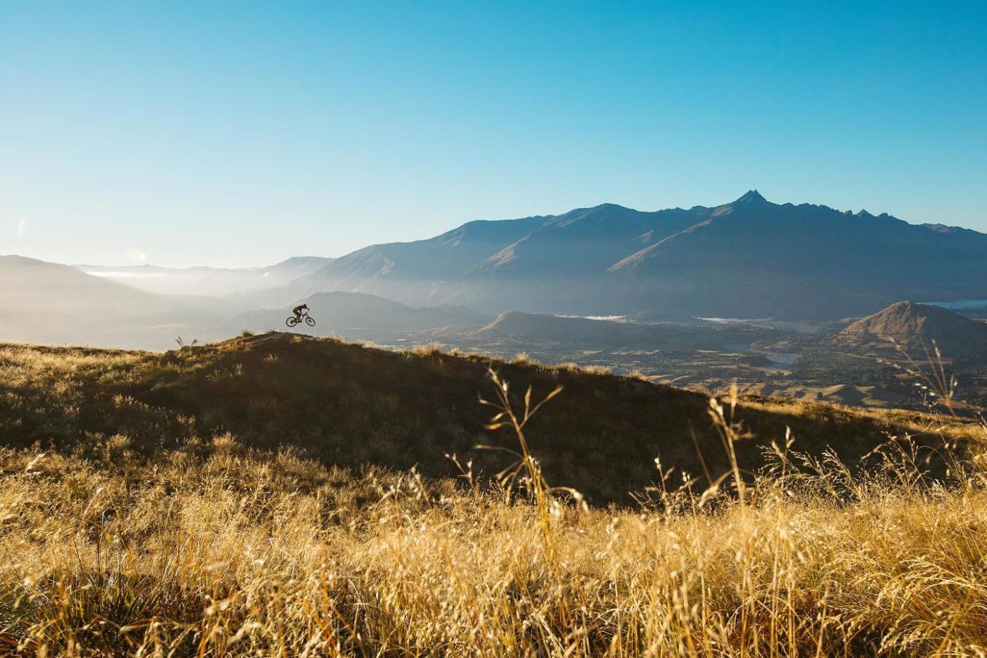 Mountain Biking Rude Rock, Coronet Peak