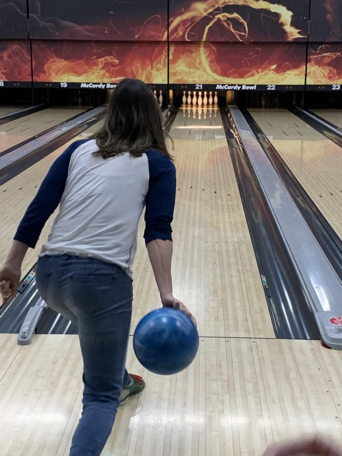 Lisa Bowling at McCurdy Bowling Centre