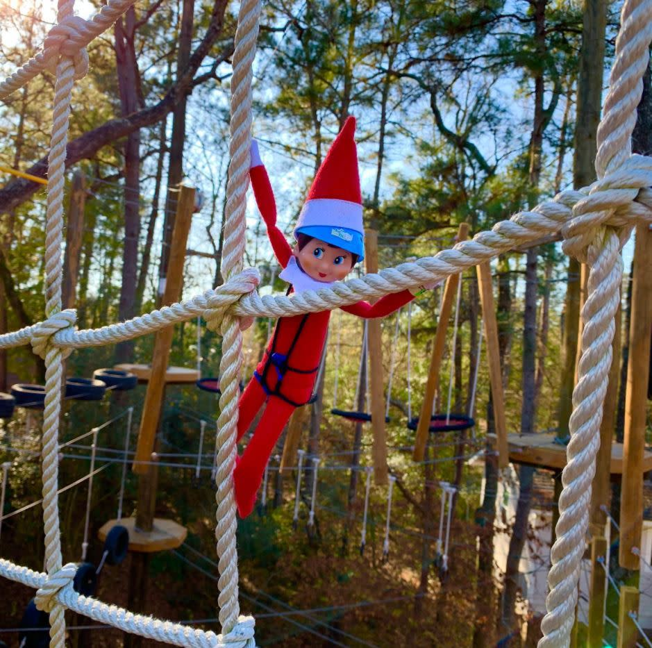 Ella the Elf at Texas TreeVentures