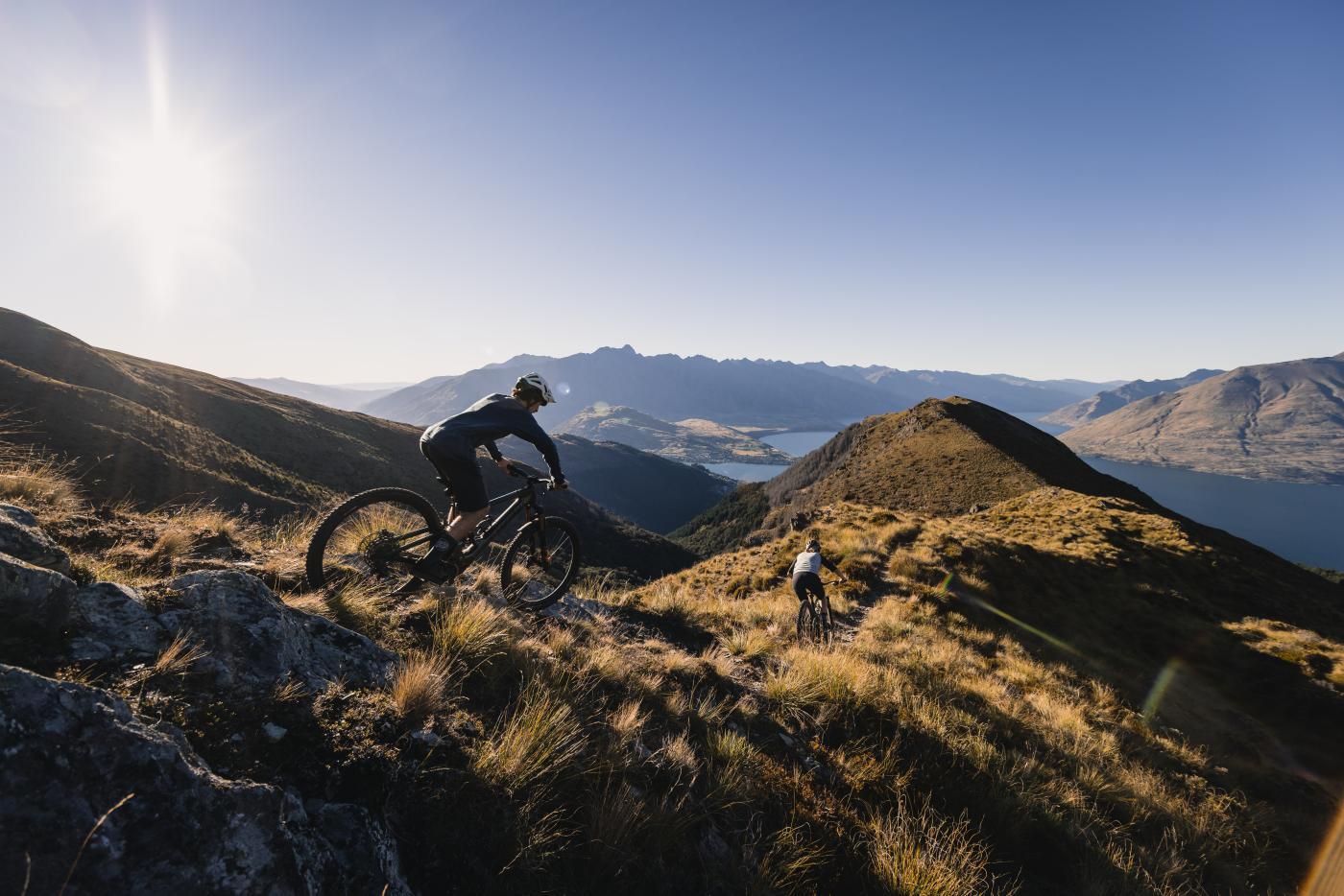 E-Bike Mountain Biking, Ben Lomond