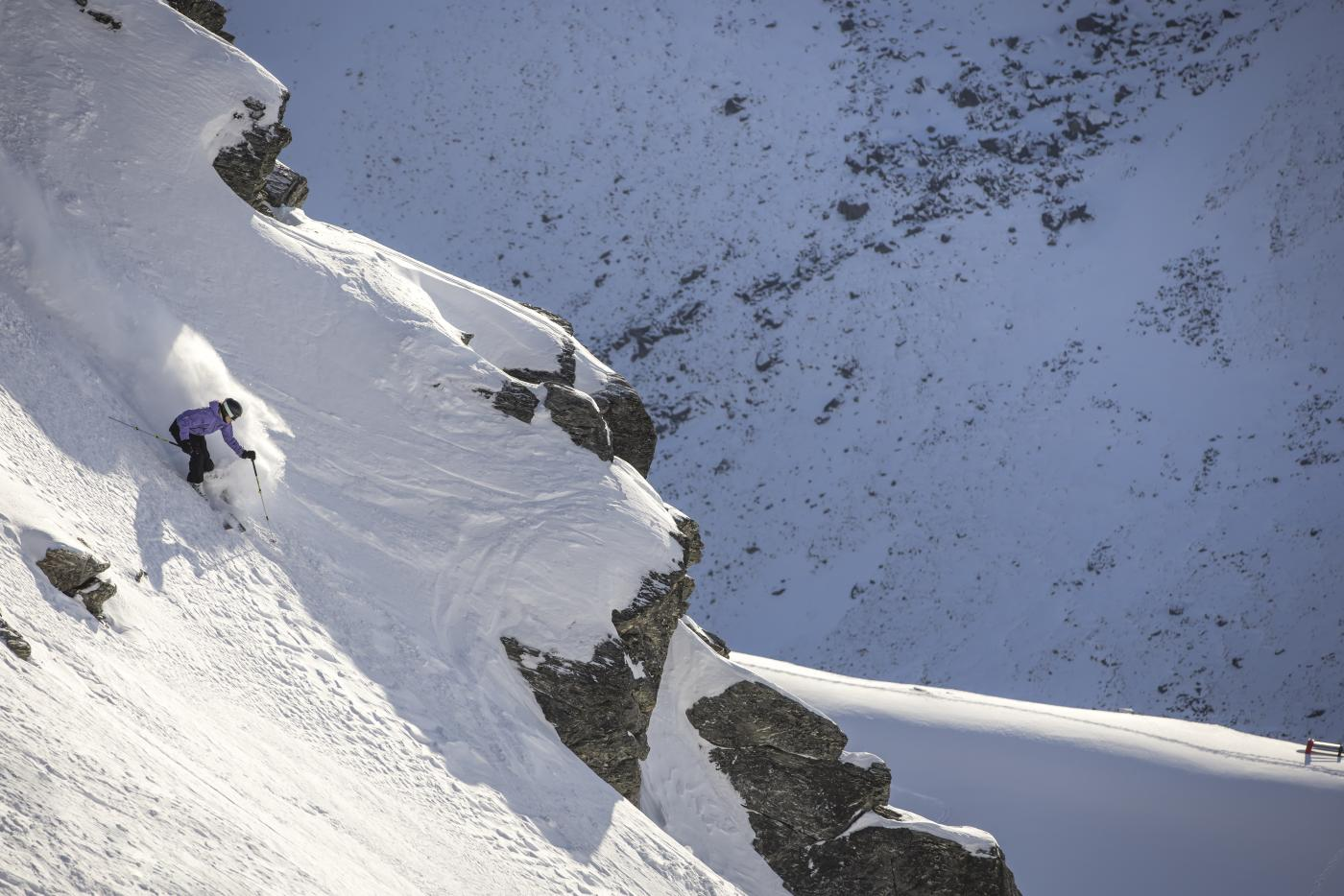 Skiing The Remarkables