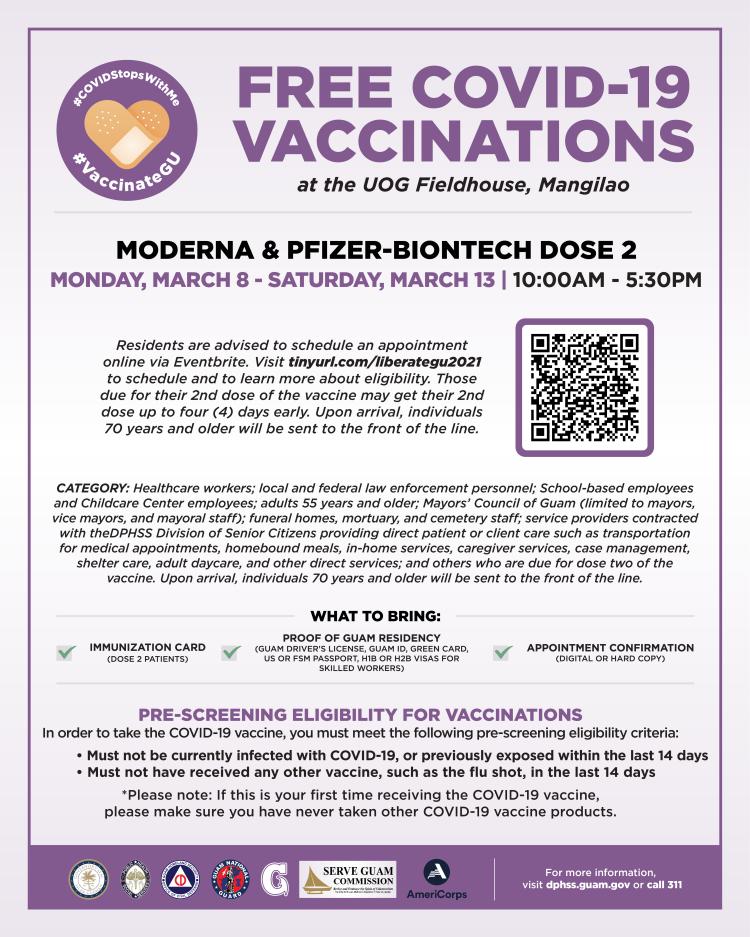 UOG Vaccination Clinics 3.11.21