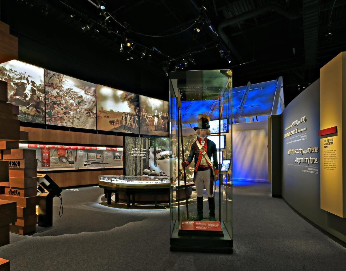 Founding the Nation Gallery - National Museum of the U.S. Army