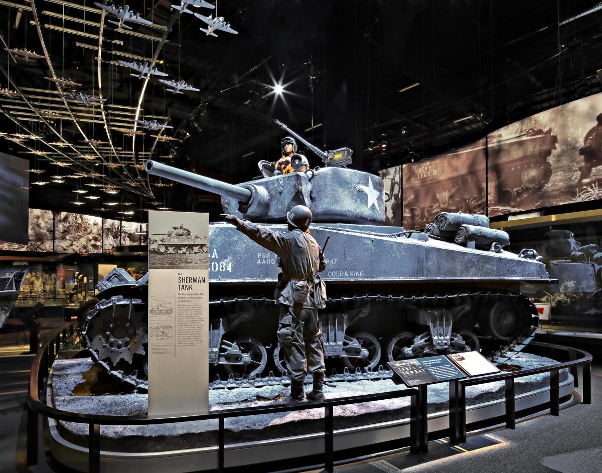 M4 Sherman Tank - National Museum of the U.S. Army