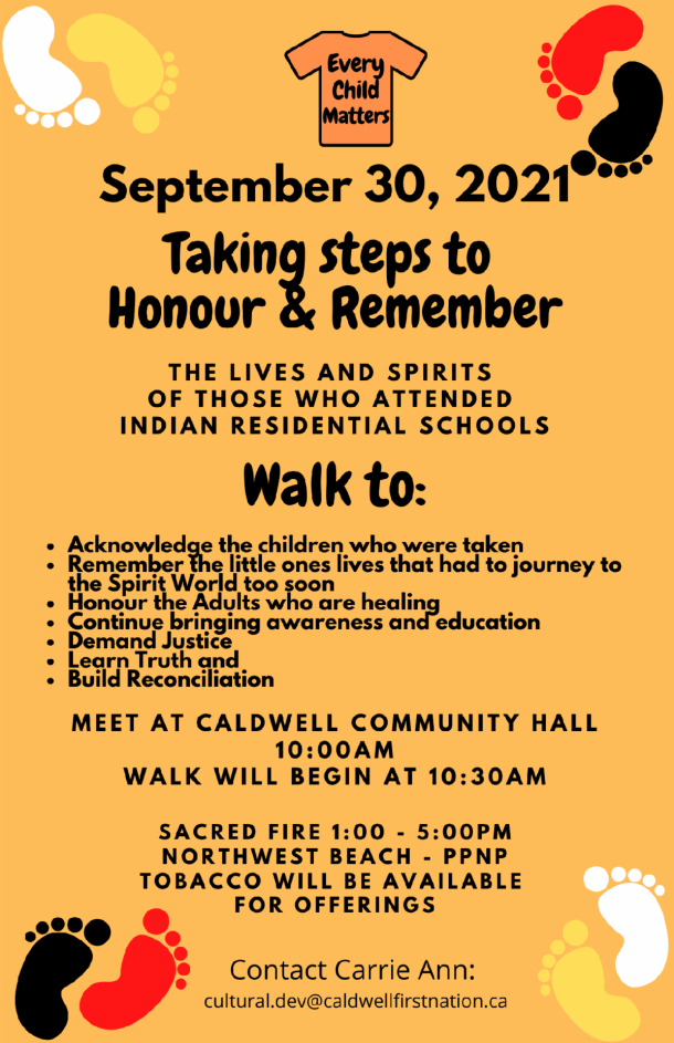 Caldwell First Nation - Poster