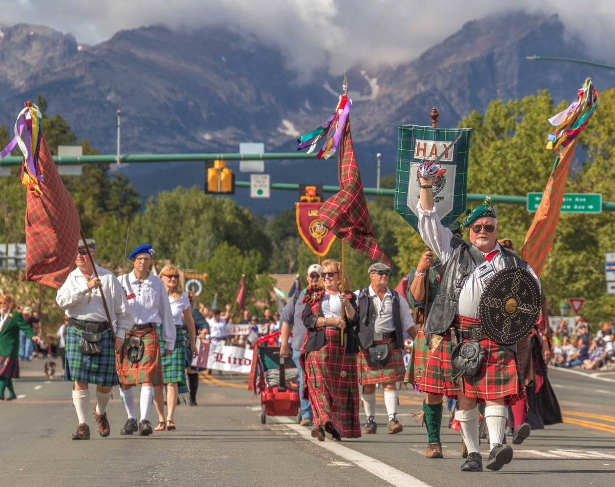 scottish irish festival scott fest parade