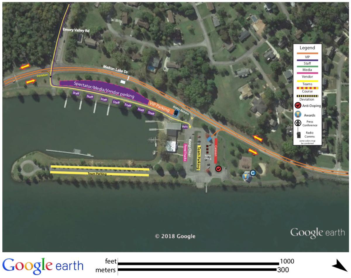 USA Google Earth Map Parking