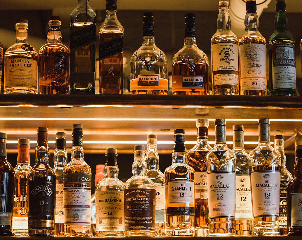 Top shelf whiskey & scotch in Beaumont