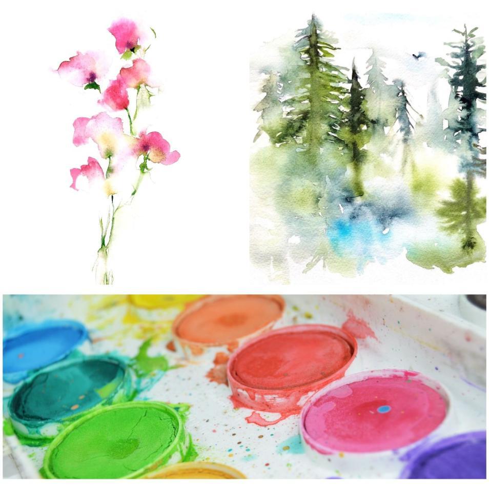 Lansing Art Gallery Watercolor Class