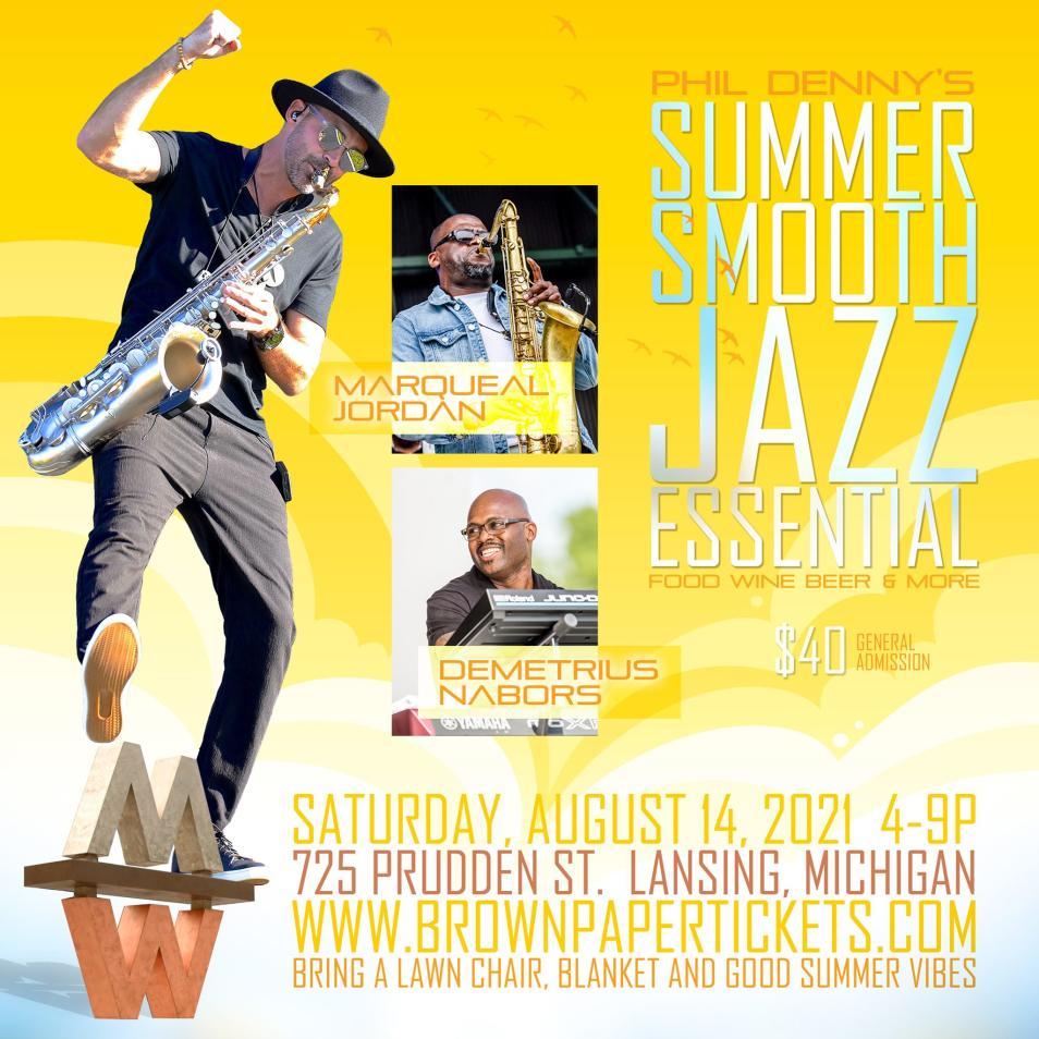 Phil Denny Summer Smooth Jazz 2021