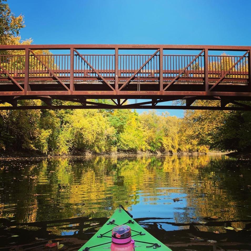 Grand River kayaking