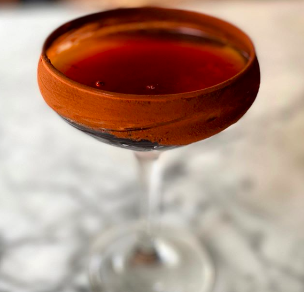 A fall cocktail from Agricola