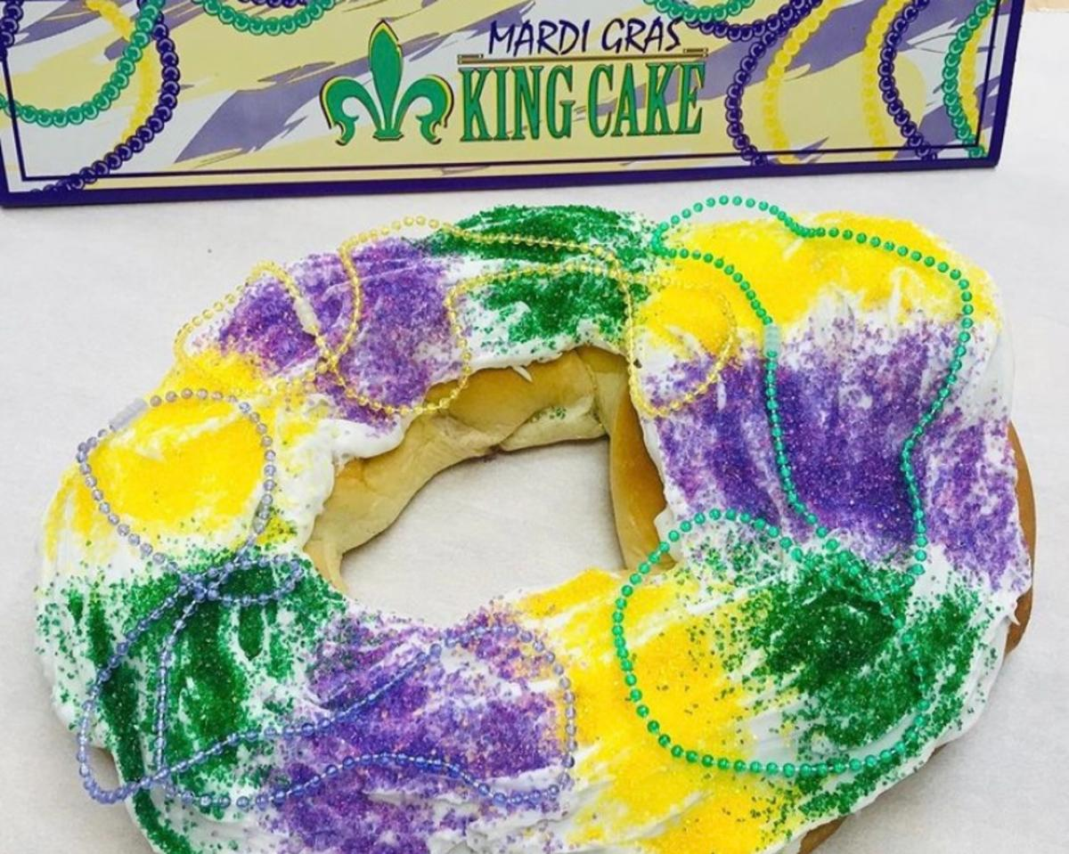 The Original Goodie Shop King Cake