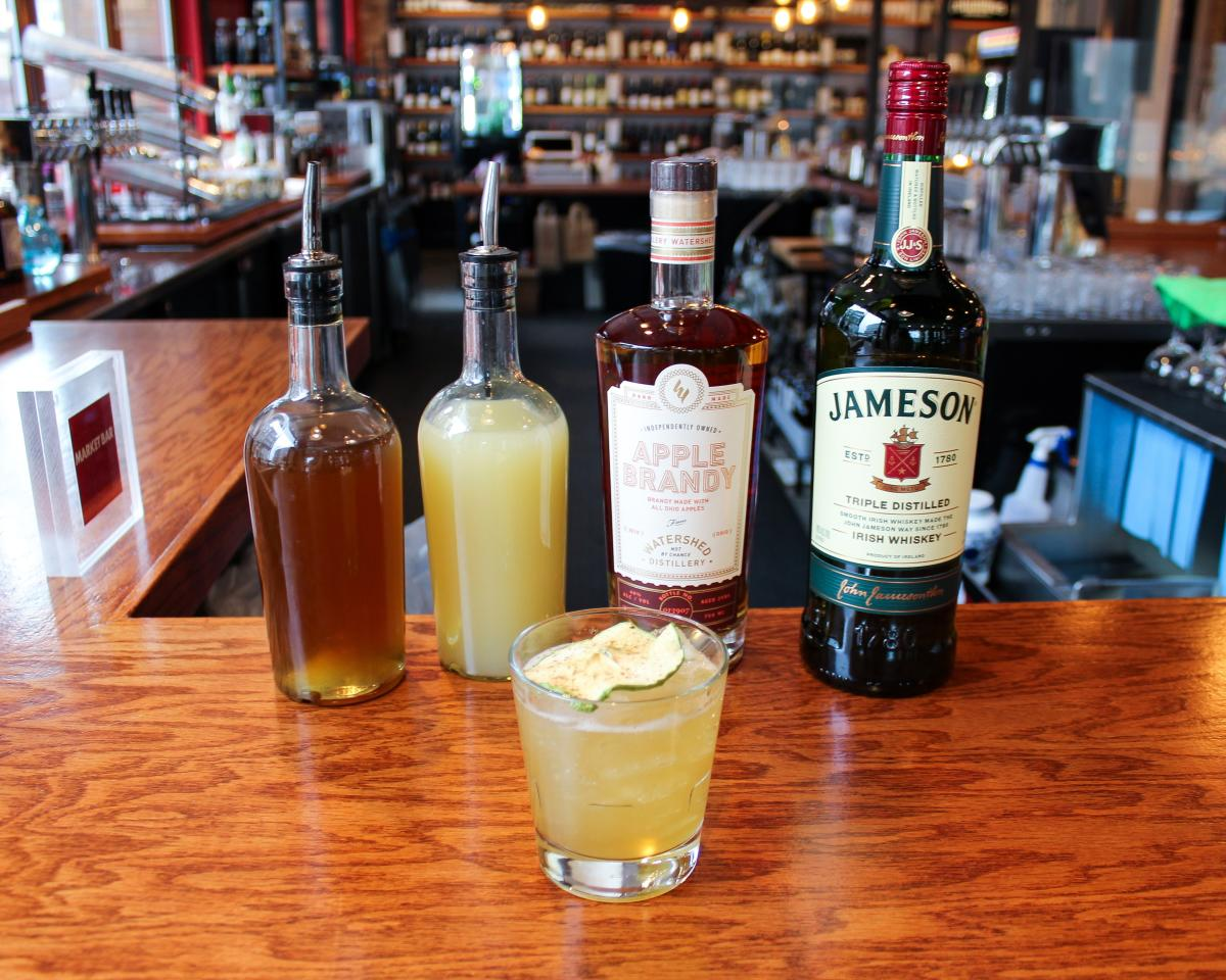 The Dubliner, from Market Bar, on the Celtic Cocktail Trail
