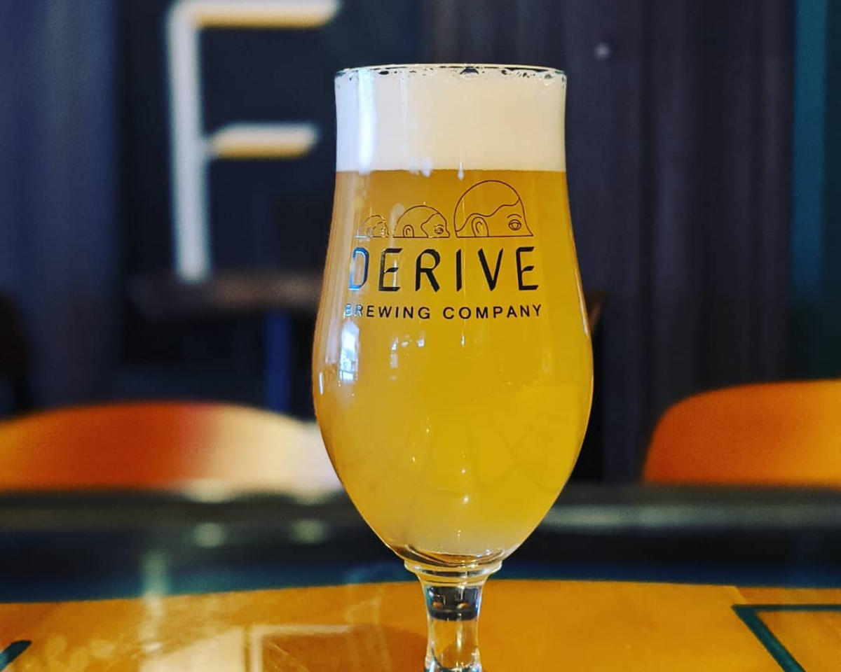 Beer from Derive Brewing