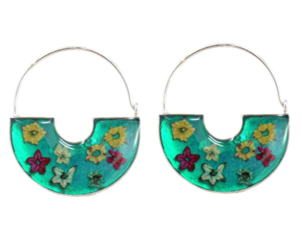 Global Gifts Flower Earrings