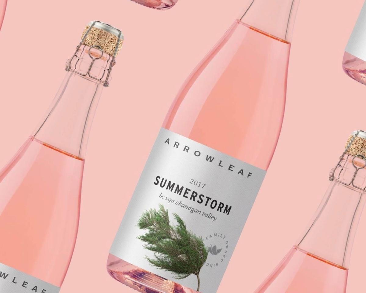 Arrowleaf Cellars - Summerstorm Rose Product shot