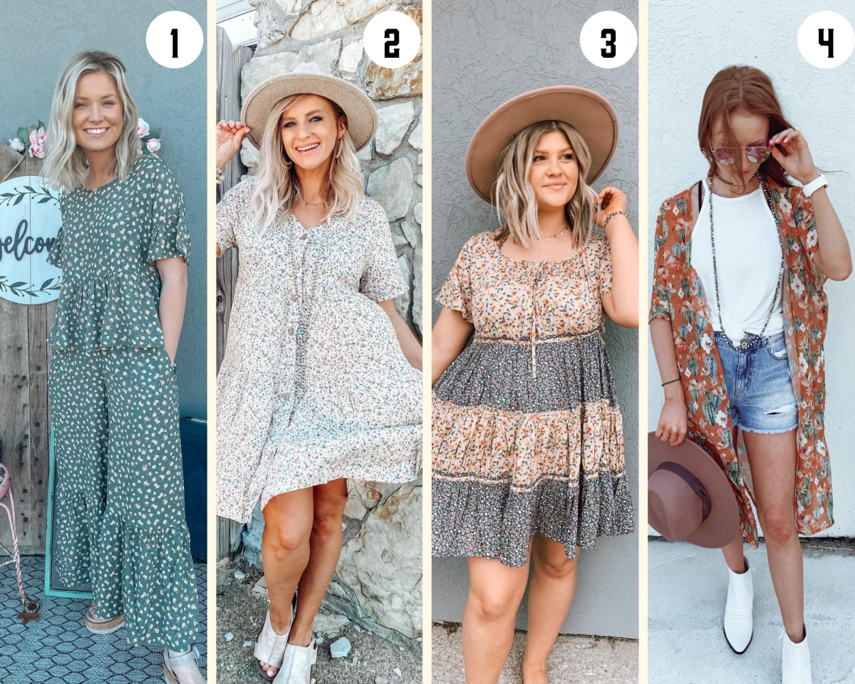 Country Lace Boutique Collage