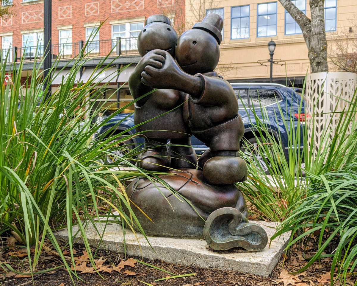 Market Street Public Art: Sculpture - Free Money