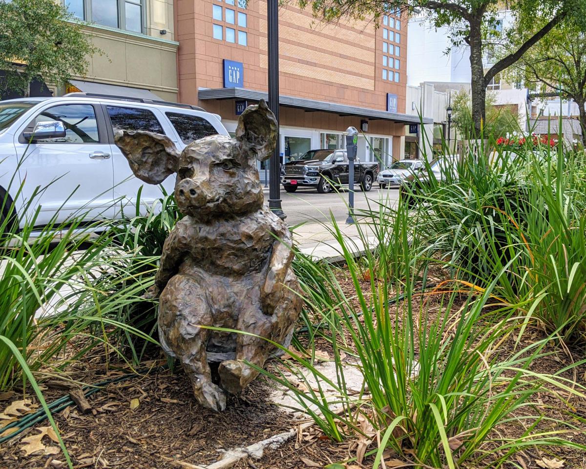 Public Art in Market Street: Spammy