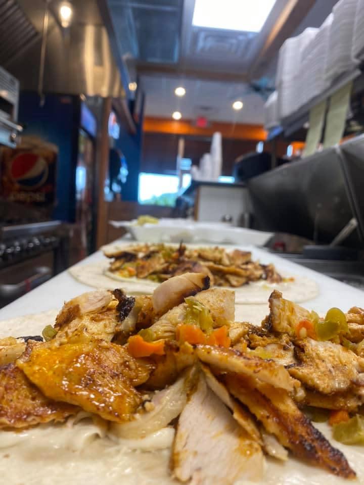 Mediterranean food from Schwarma Guys in Lafayette, LA.