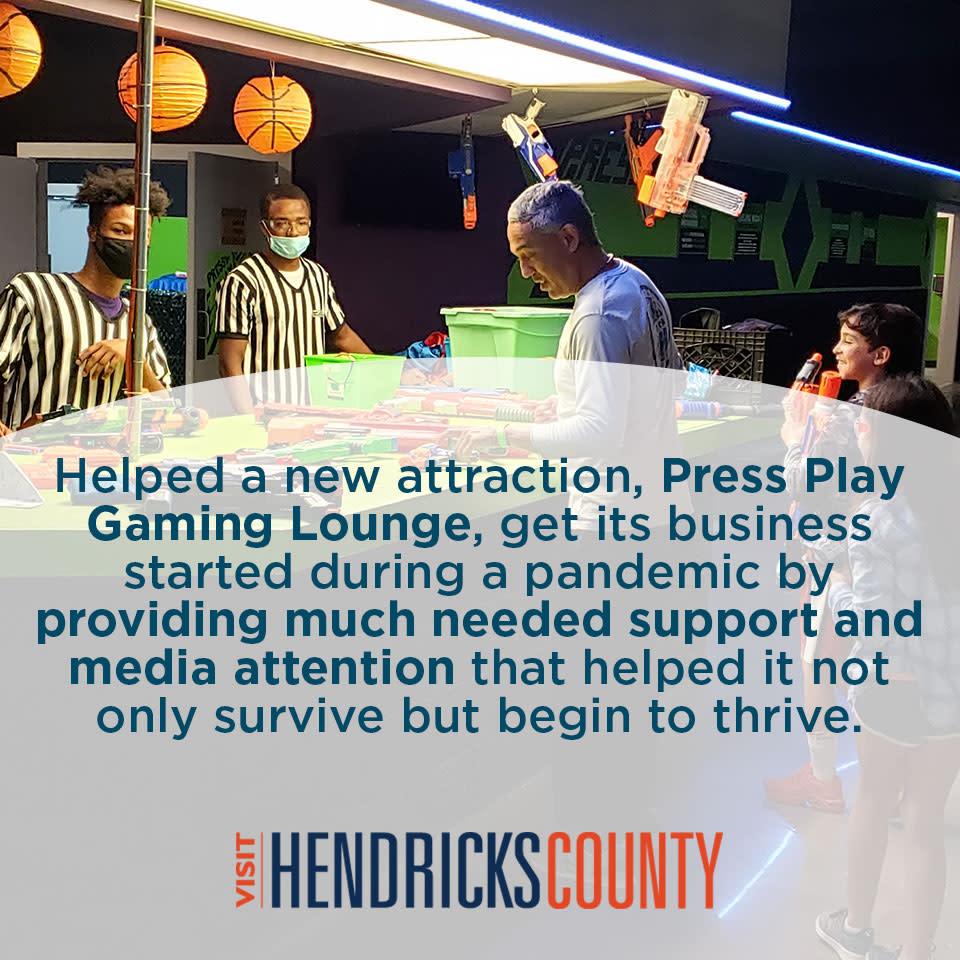 How Visit Hendricks County Helped Press Play