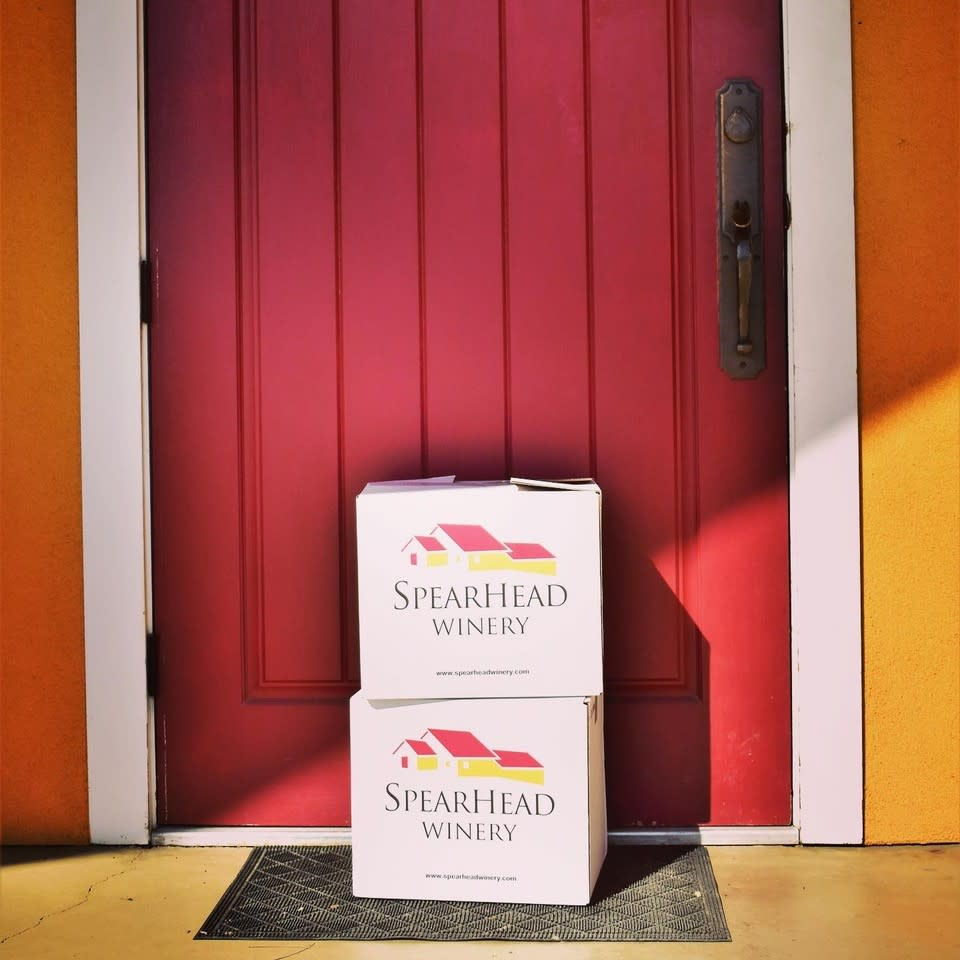 SpearHead Winery Cases