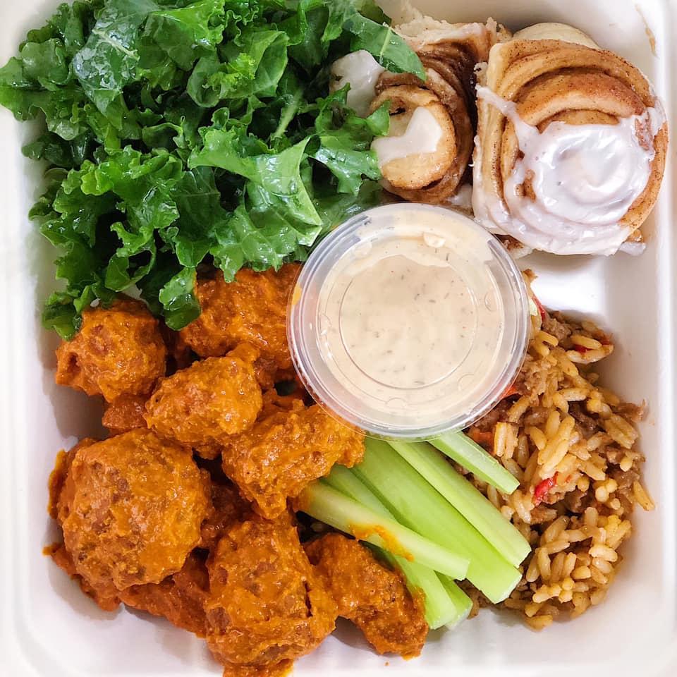 Vegan Dish from Taylormade Eats