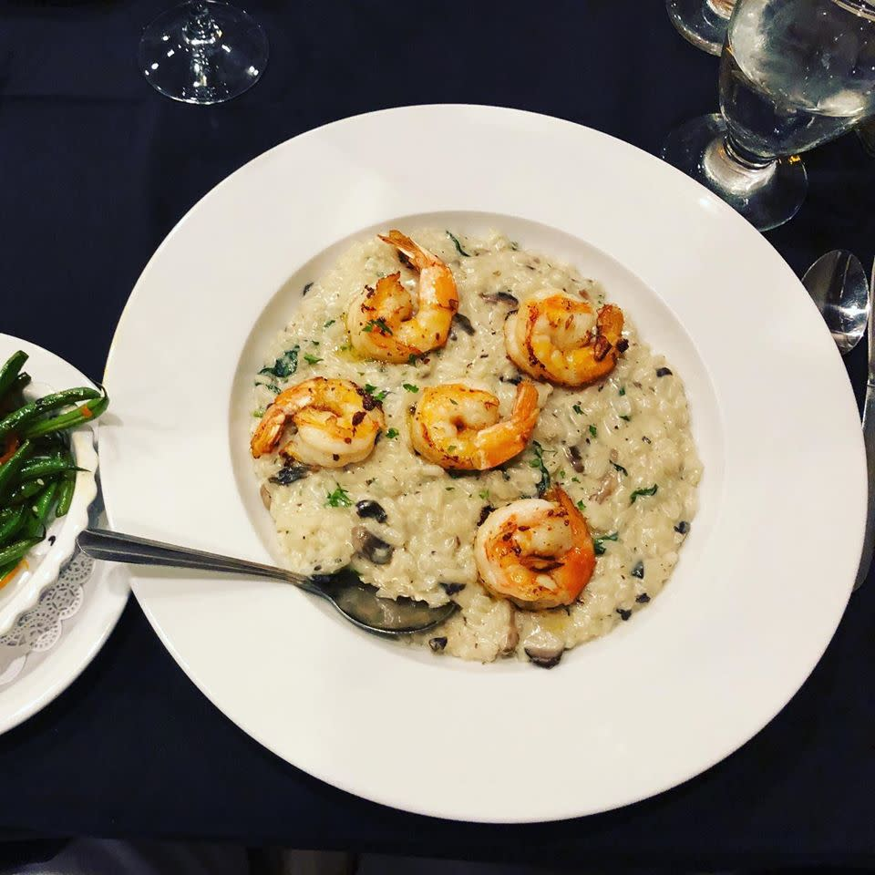 Greensburg Restaurant Week, Shrimp Risotto