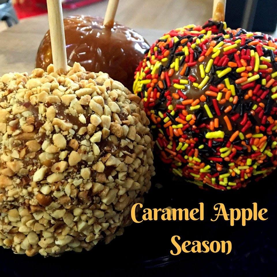 caramel apples caramel crisp