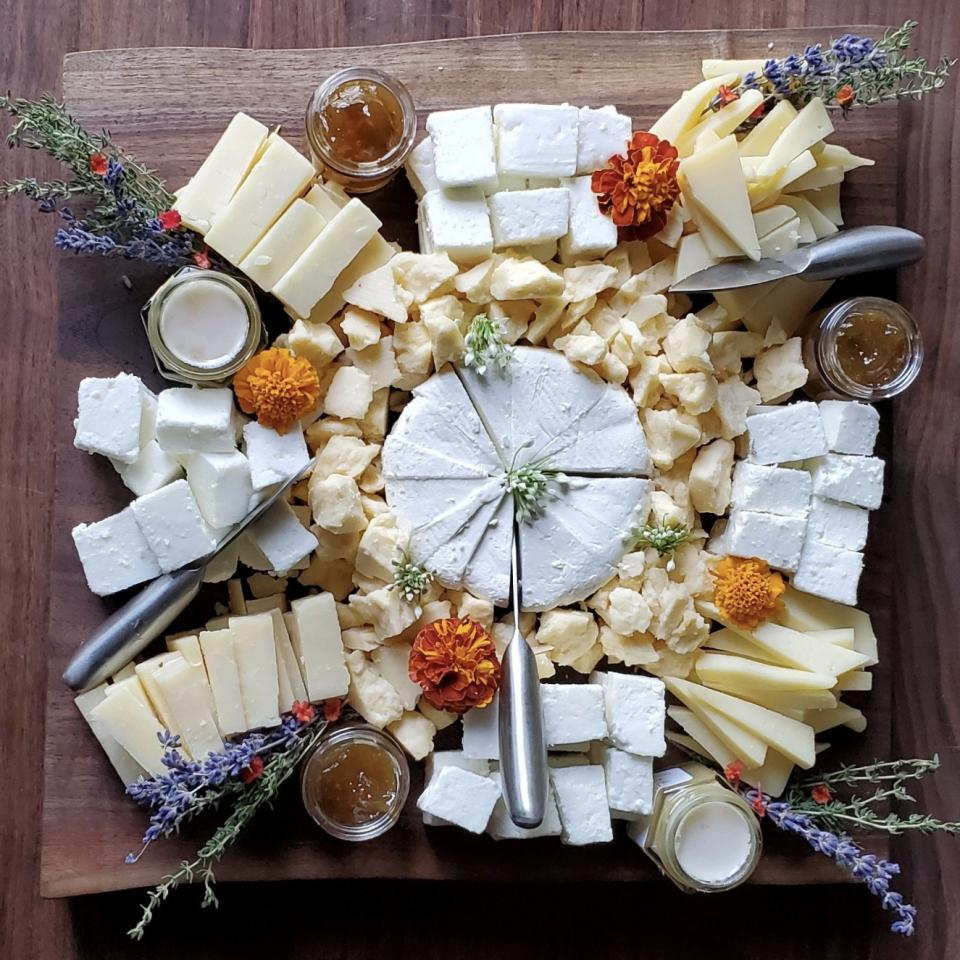 Cheese Plate at Elderslie Farm