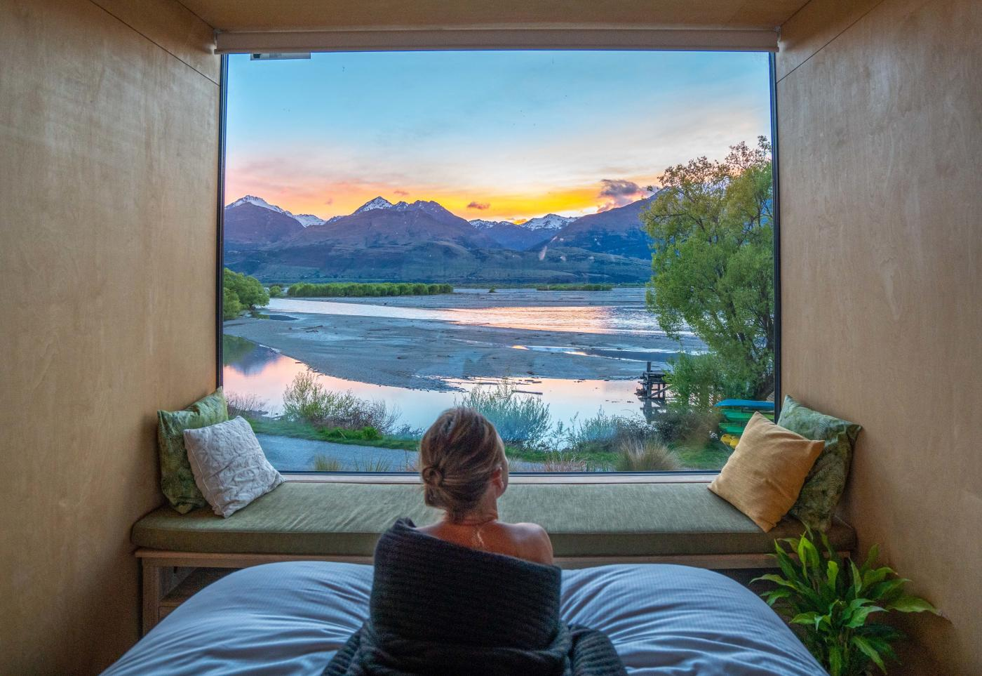 Ecoscapes, luxury eco pods, Kinloch Lodge