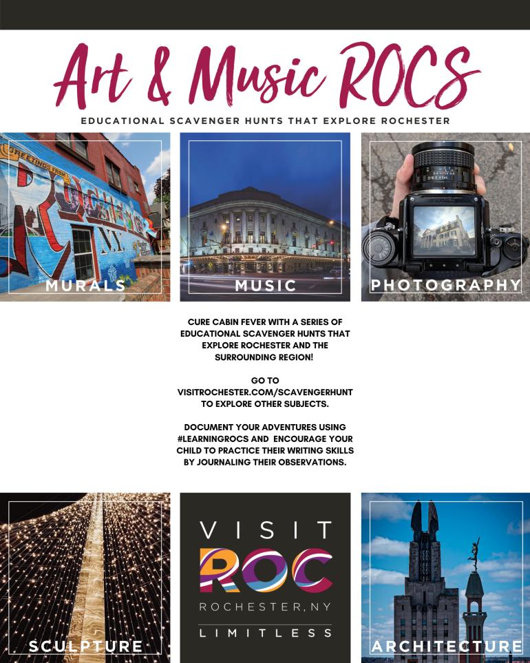 Art & Music Scavenger Hunt