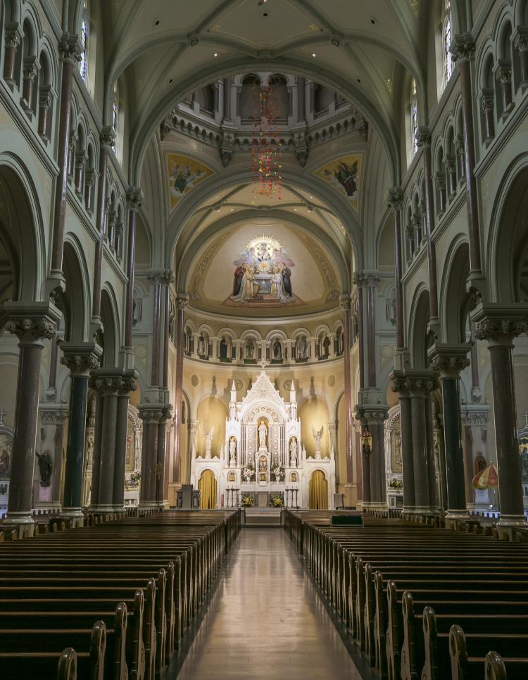 Mission Hill Basilica interior