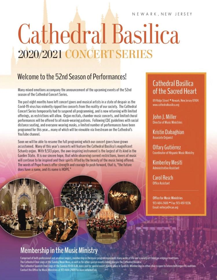 Cathedral 2020-2021 Concert Series