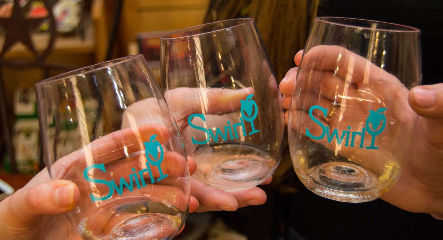 Wine Swirl Glasses