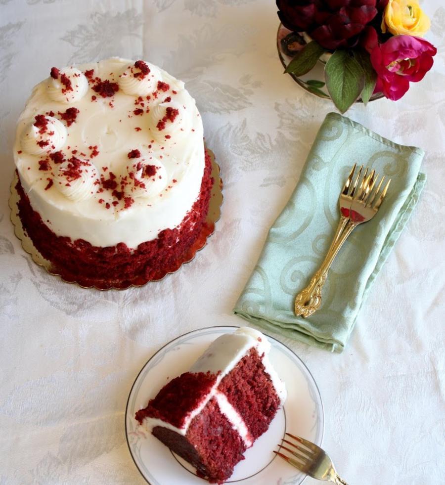 Dessert Fork Velvet Cake