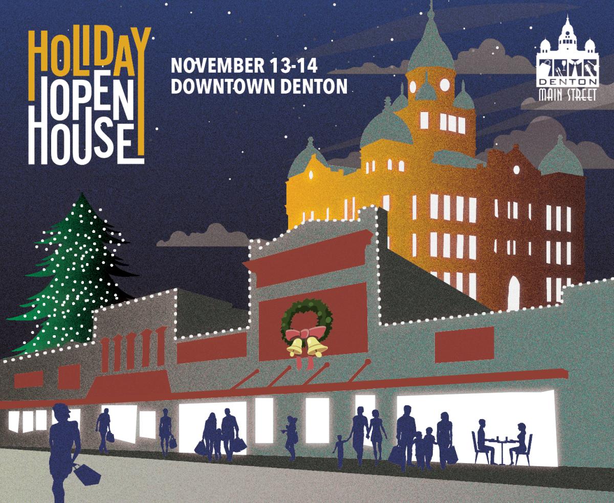 Denton Main Street Association Holiday Open House